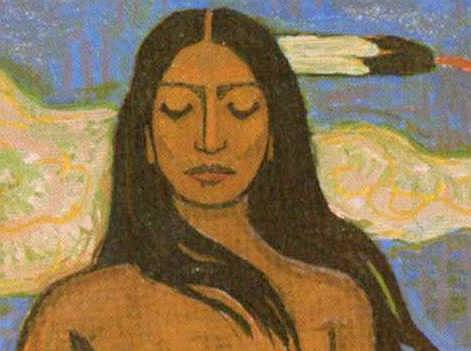 Frithjof Schuon, indian woman