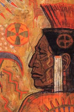 l'humain solaire des pyrénées Indians11g